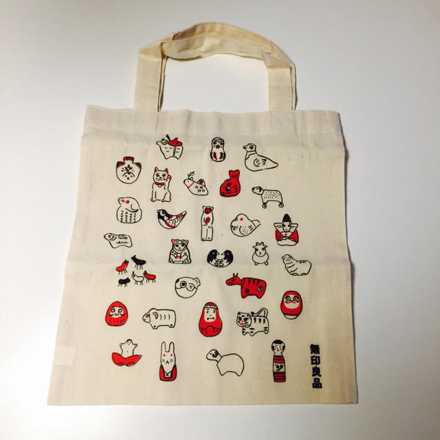 MUJI (無印良品)(ムジルシリョウヒン)の無印良品 エコバック レディースのバッグ(エコバッグ)の商品写真