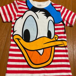 Disney - ディズニー ドナルド ボーダーTシャツ
