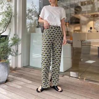 TODAYFUL - 新品未使用 TODAYFUL Jacquard Slit Trousers完売品