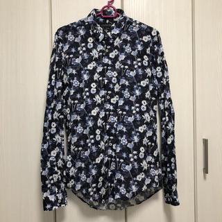 ZARA - ZARA/花柄シャツ/スリムフィット/Mサイズ