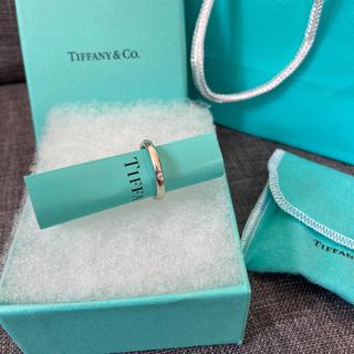Tiffany & Co. - Tiffany&co ティファニー ダイヤ付きリング指輪