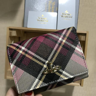 Vivienne Westwood - ヴィヴィアン  三つ折り財布 チェック レディース かわいい