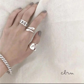 BEAUTY&YOUTH UNITED ARROWS - 大人気なため再入荷!tear drop ring silver925 3点セット