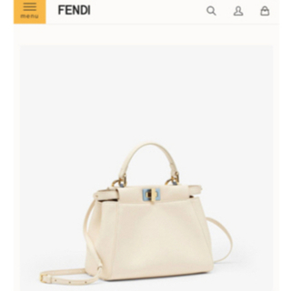 FENDI - 未使用 FENDI ピーカブー ショルダーバッグ  ハンドバッグ