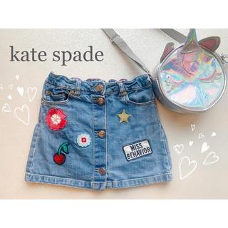kate spade new york - ♡kate spade♡デニムスカート♡100cm♡