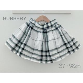 バーバリー(BURBERRY)の♡バーバリースカート♡3Y 98cm♡(スカート)