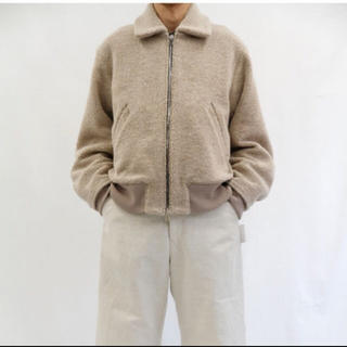 SUNSEA - URU 18aw ボアジャケット