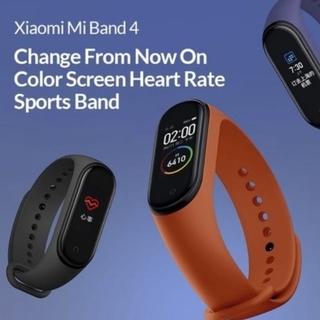 シャオミ スマートウオッチ Mi Smart Band4 黒 (輸入品)(腕時計(デジタル))