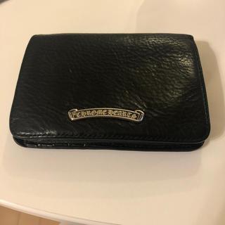 Chrome Hearts - クロムハーツ  財布 ジョーイウォレット Joey 美品 ブラック レザー