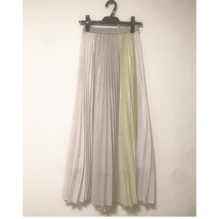 AuieF - プリーツスカート チュールスカート