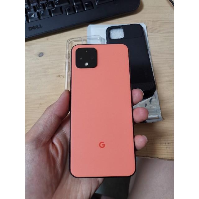 ANDROID(アンドロイド)のGoogle pixel 4 64GB (WiFi 専用)今日だけ32,990 スマホ/家電/カメラのスマートフォン/携帯電話(スマートフォン本体)の商品写真