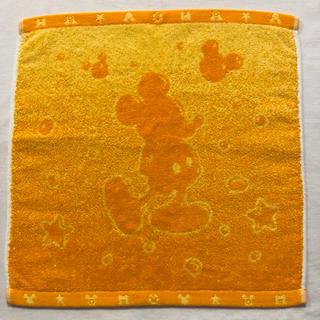 ミッキーマウス(ミッキーマウス)のミッキーマウス タオル オレンジ(タオル)