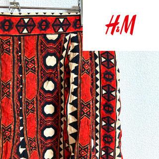 エイチアンドエム(H&M)の《アジア柄☆》H&M ワイド ショートパンツ パンツ アジアン エスニック(ショートパンツ)