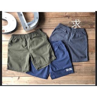 スタンダードカリフォルニア(STANDARD CALIFORNIA)のSD Seersucker US Navy Easy Shorts(ショートパンツ)
