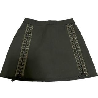 ドルチェアンドガッバーナ(DOLCE&GABBANA)のD&G  編み込みスカート(ミニスカート)