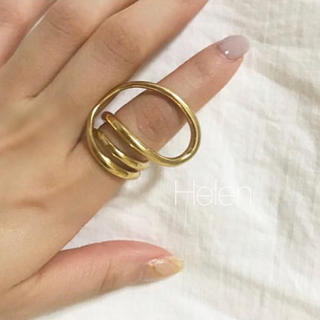 Ron Herman - gold round trip ring