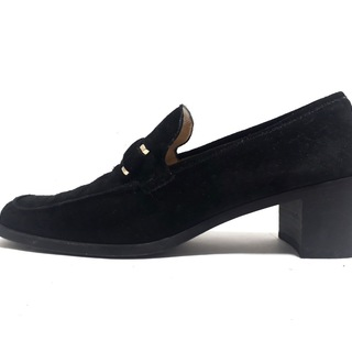グッチ(Gucci)のグッチ ローファー 7 1/2 レディース - 黒(ローファー/革靴)