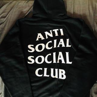 アンチ(ANTI)のアンチソーシャルクラブ  パーカー 2020 黒 L(パーカー)