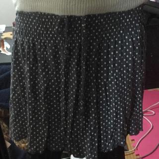 キュートゥーピー(QTOP)のキュートゥーピーの水玉スカート(ひざ丈スカート)
