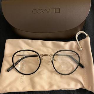 アヤメ(Ayame)のオリバーピープルズ 眼鏡 メガネ 黒縁メガネ ラウンド 丸眼鏡(サングラス/メガネ)