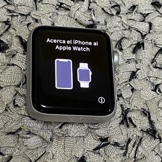 アップル(Apple)のアップルウォッチ シリーズ2 42mm シルバー アルミニウムケース(腕時計(デジタル))