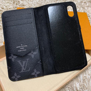 LOUIS VUITTON - 【極美品♡】ルイヴィトン モノグラム エクリプス iPhone X XS ケース