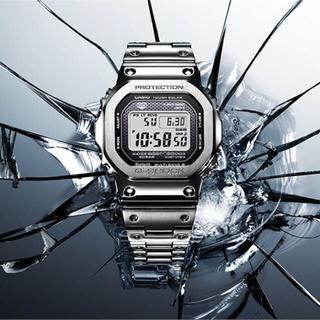ジーショック(G-SHOCK)のG-SHOCK GMW-B5000D-1JF フルメタル シルバー(腕時計(デジタル))