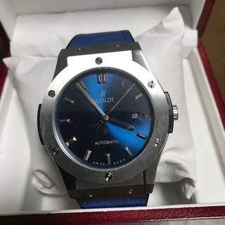 SEIKO - 国内発送 本日限定付属品完備 ウブロ自動巻腕時計