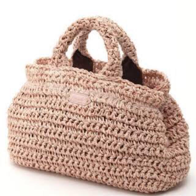 snidel(スナイデル)のsnidel 新品カゴバッグ ペーパーバッグ レディースのバッグ(かごバッグ/ストローバッグ)の商品写真