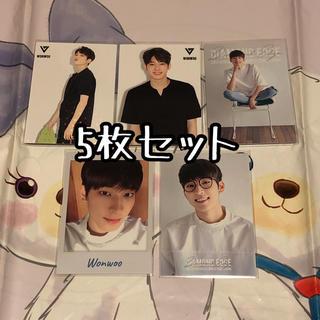 セブンティーン(SEVENTEEN)の月 ウォヌ トレカ DIAMOND EDGE 日本 seventeen セブチ(K-POP/アジア)