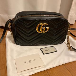 Gucci - GUCCI グッチ GGマーモント キルティングミニバッグ