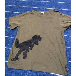 GU - GU 恐竜柄Tシャツ(130cm)