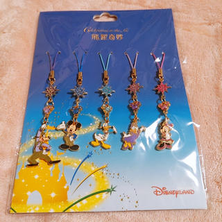 ディズニー(Disney)の香港 ディズニー 5周年 キーホルダー セット(キーホルダー)