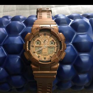 G-SHOCK - 【生産終了】CASIO G-SHOCK 腕時計 GA-100GD-9AJF