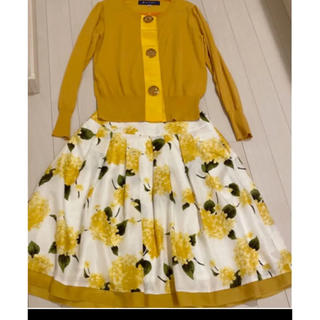 M'S GRACY - エムズグレイシー  上下 セット 花柄スカート