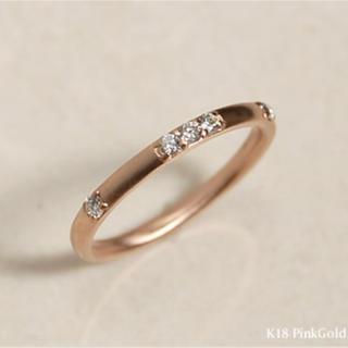 【限定値下】avaron 【MouDia】k18 ダイヤモンド リング 11.5(リング(指輪))