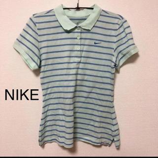 ナイキ(NIKE)のNIKE ボーダーポロシャツ(ポロシャツ)