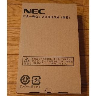 NEC - 【新品未使用】NEC 無線ルータ WG1200HS4