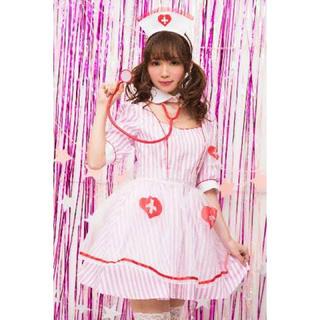 デイジーストア(dazzy store)のナースメイド服 ピンク(コスプレ)