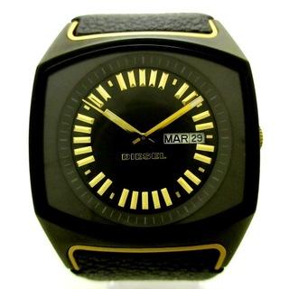 ディーゼル(DIESEL)のディーゼル 腕時計美品  - DZ-5214 黒(腕時計)