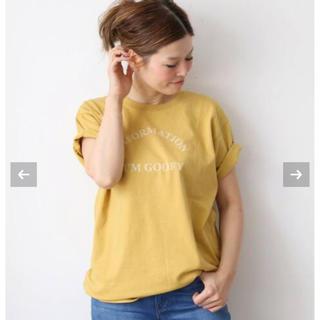 DEUXIEME CLASSE - 新品未使用 キャラクス INFORMATION I'M GOOFY Tシャツ