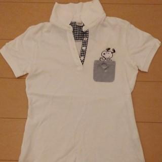 スヌーピー(SNOOPY)のスヌーピーゴルフポロシャツ(ポロシャツ)