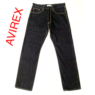 AVIREX - AVIREX デニムパンツ W34
