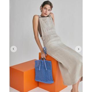 Mila Owen - 大人気 MILA OWEN リネンジャンパースカート size 0
