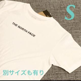 THE NORTH FACE - ノースフェイス S  Tシャツ 半袖  ロゴ刺繍  NT32001X W