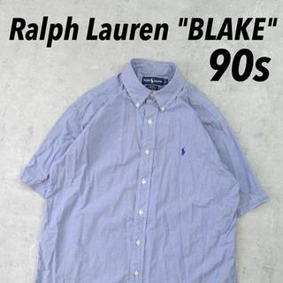 ラルフローレン(Ralph Lauren)のRalph Lauren BLAKE BDシャツ ギンガム オーバーサイズ レア(シャツ)