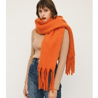 SLY - 新品 SLY TWIST FRINGE BIG STOLE