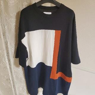 ZARA - Lui's カットソー Tシャツ 切り返し デザイン