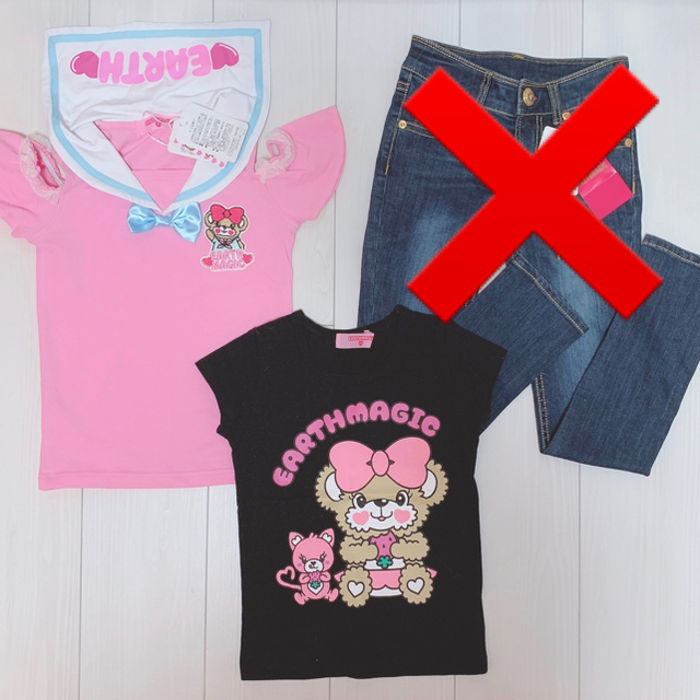 EARTHMAGIC(アースマジック)の▷専用◁♡*。゚ キッズ/ベビー/マタニティのキッズ服女の子用(90cm~)(Tシャツ/カットソー)の商品写真