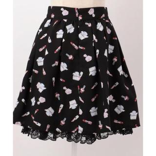 ロディスポット(LODISPOTTO)のmille fille closet コスメ柄スカート(ひざ丈スカート)